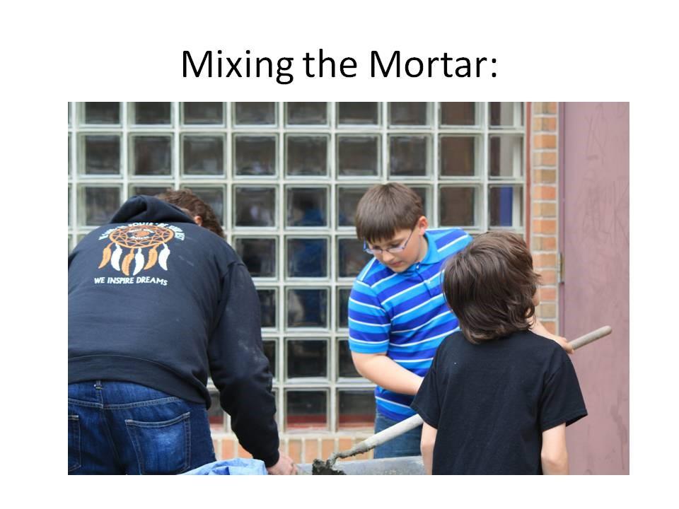 Brewster Mosaic Project Installation