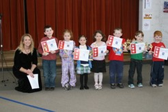 First semester Principal Award Winners